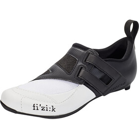 Fizik Transiro Powerstrap R4 Zapatillas de Triatlón, black/white